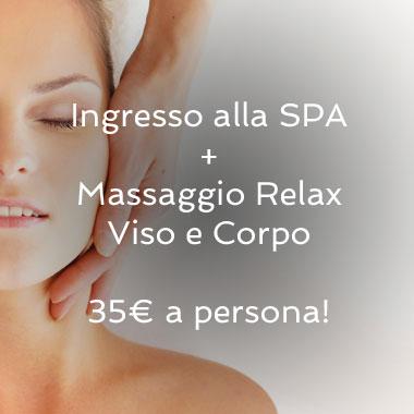 Ingresso alla SPA + Massaggio Viso e Corpo